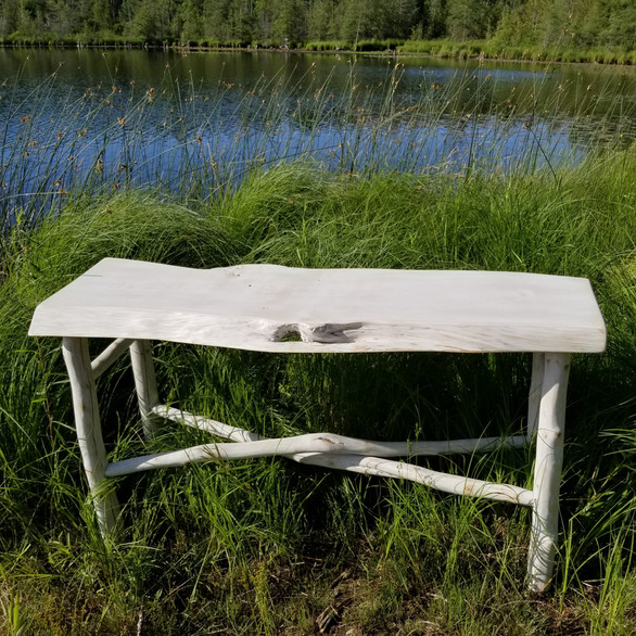 """Calm"" Collection entrance table by the water"