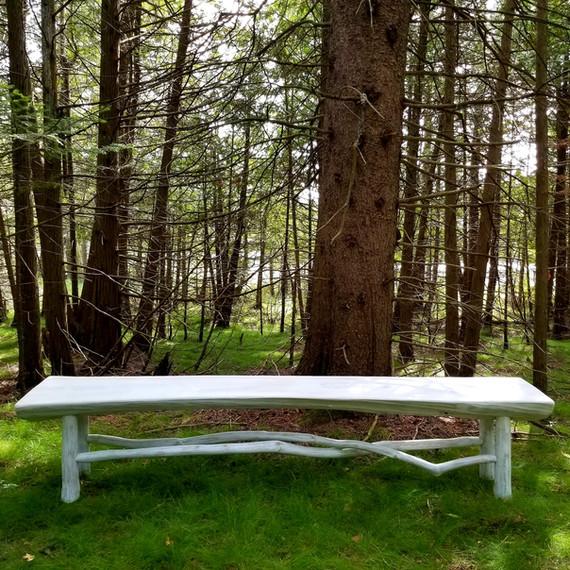 Live edge and limb bench