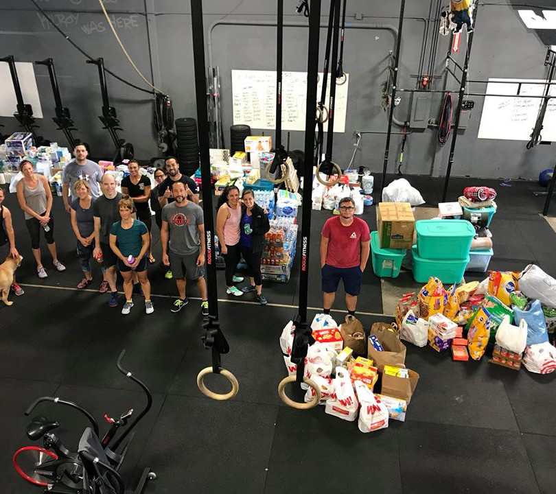 Fire Victims collection efforts