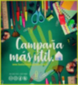 Campaña Solidaria más útil - útiles escolares - vuelta al cole
