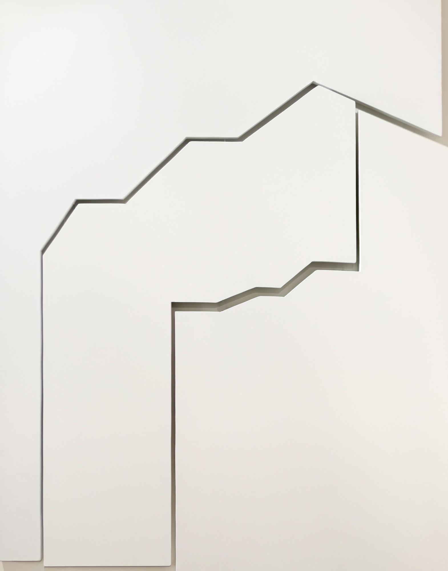 L'Architecture Blanche - 120x95 cm
