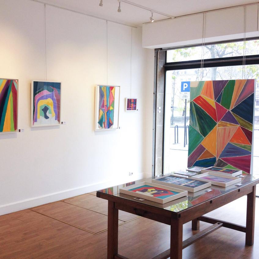 Galerie Le Cerisier-Habitee Par la couleur-Dec 2015-2