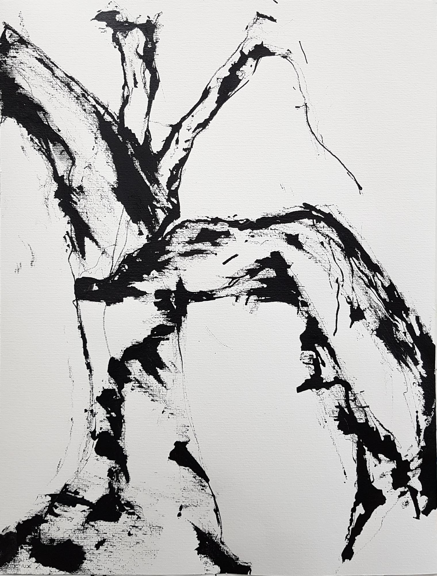 A Terre-65x50cm-Papier