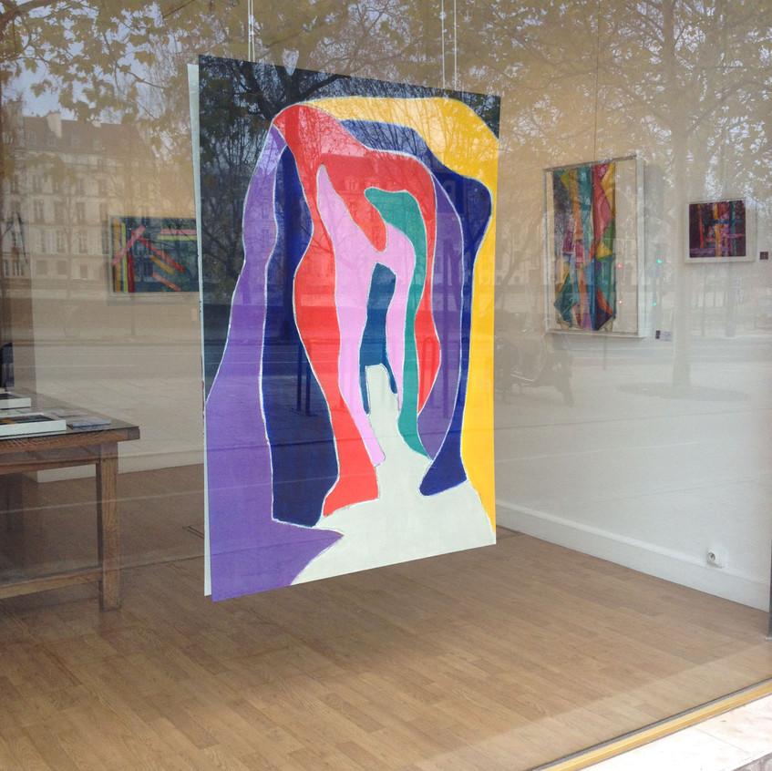 Galerie Le Cerisier-Habitee Par la couleur-Dec 2015