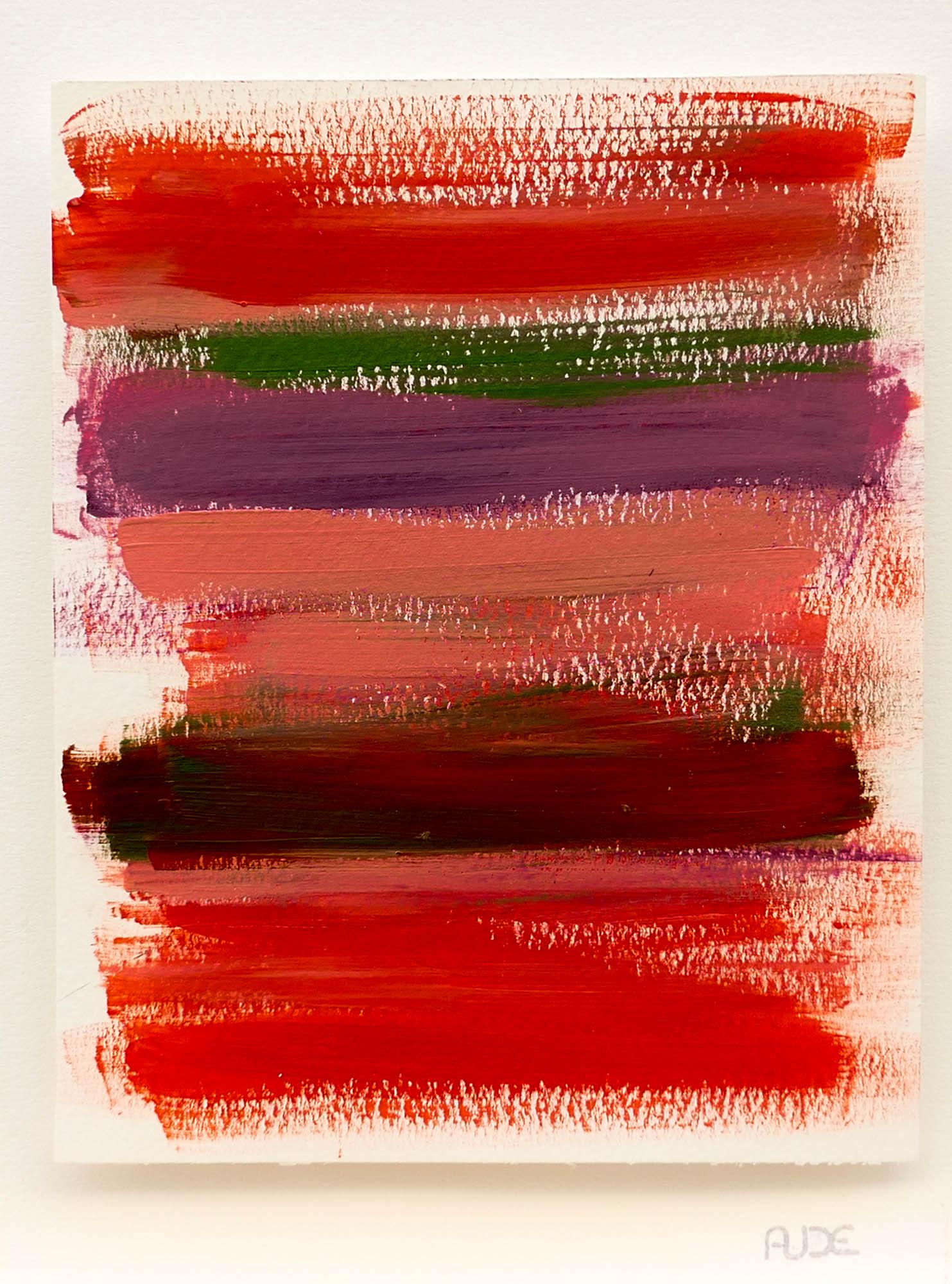 Rouge Gorge 20x16cm-Acrylique sur papier