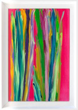 Ensemble 41x27cm-Acrylique sur carton toile