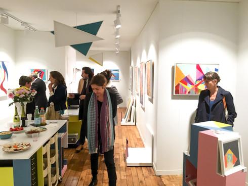 Inauguration de mon Atelier Showroom - Avril 2015