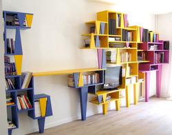 Bibliothèque sur pates
