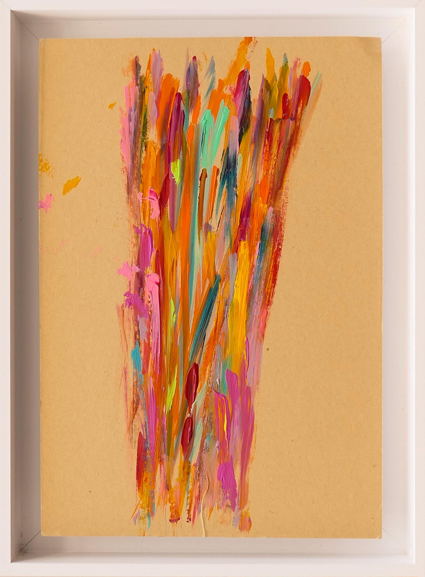 En Joie 21x30cm-Acrylique sur papier