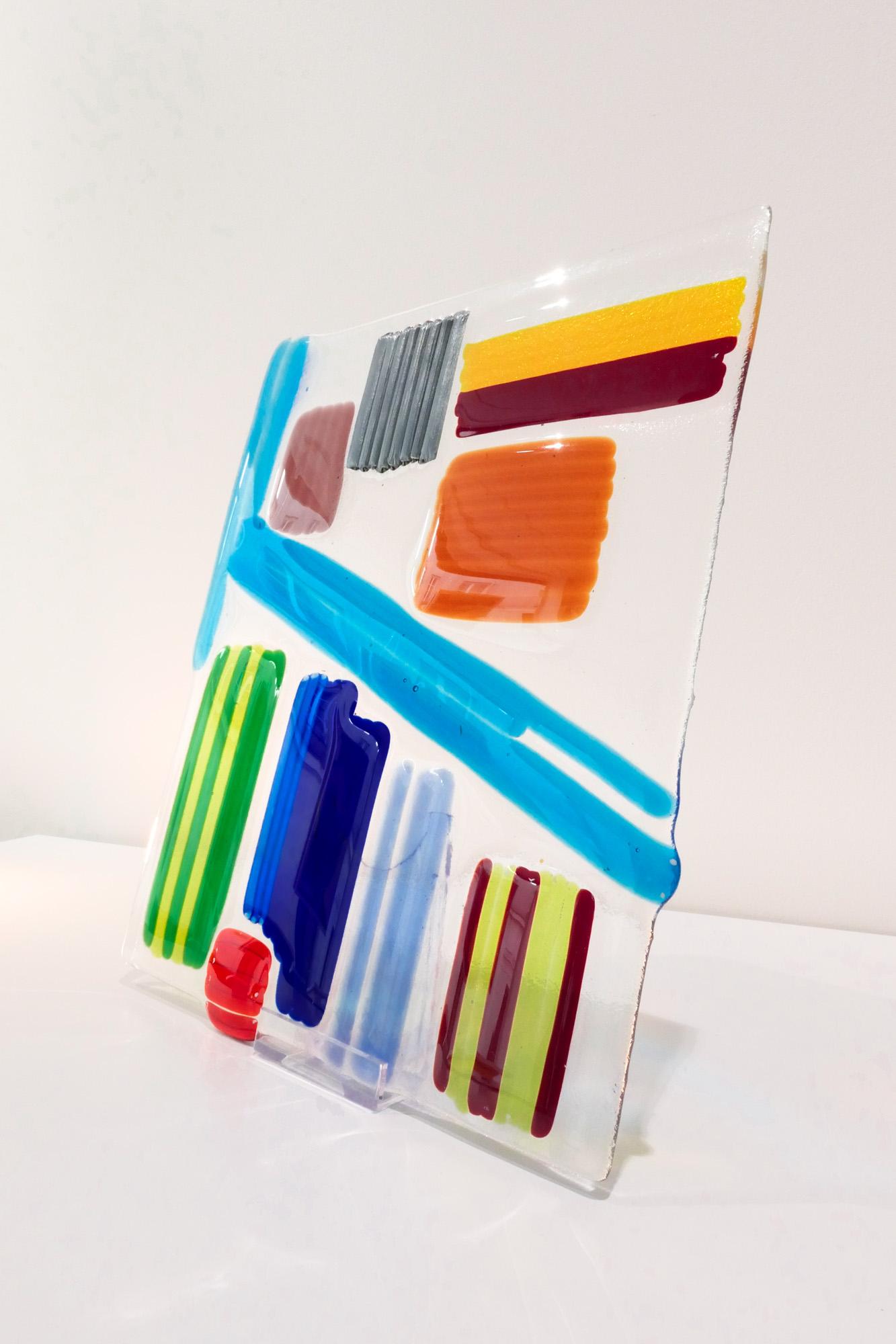 Architecture-35x30cm-Tubes de verre
