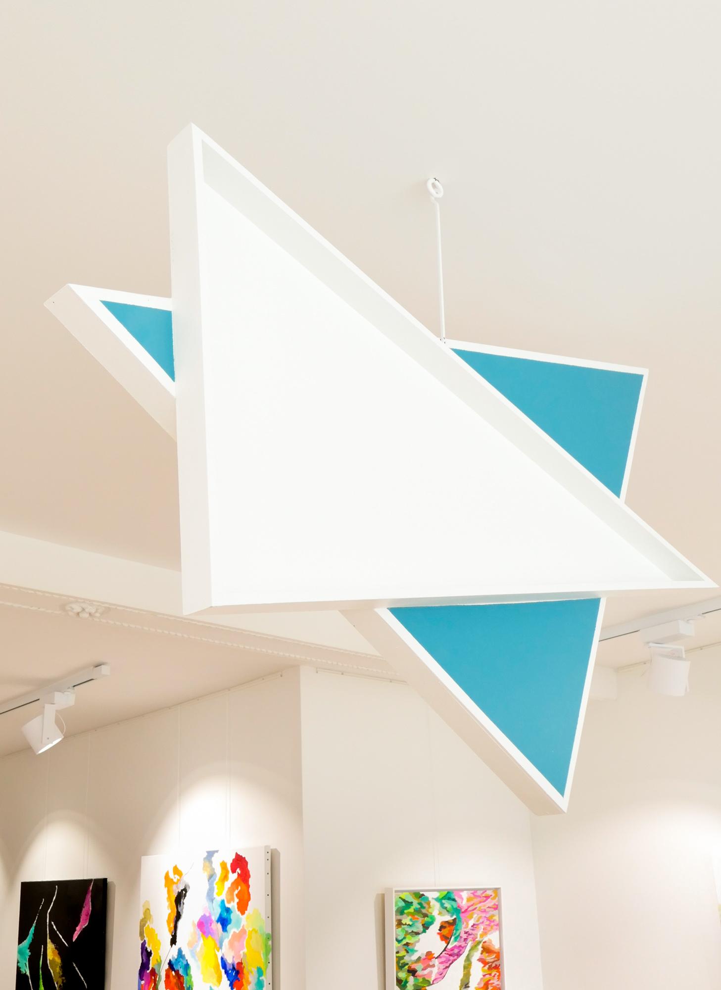 Triangle Turquoise&Jaune