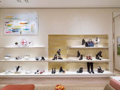 """Louis Vuitton - """"En Ville"""" dans la boutique de Daejeon, Corée du Sud"""