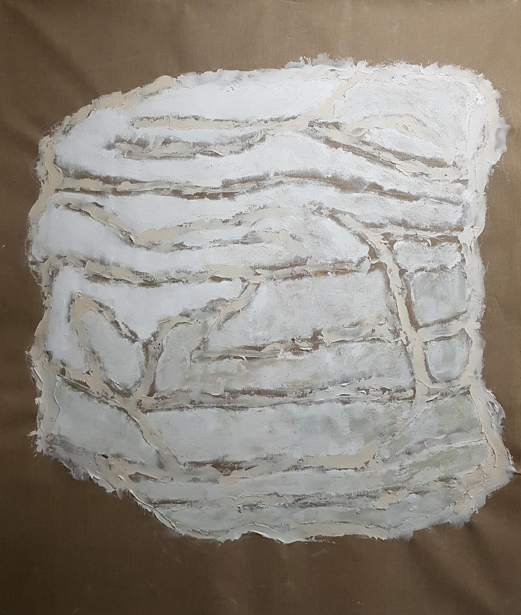 Stigmate-Empreinte -Parois-200x166cm.-Toile