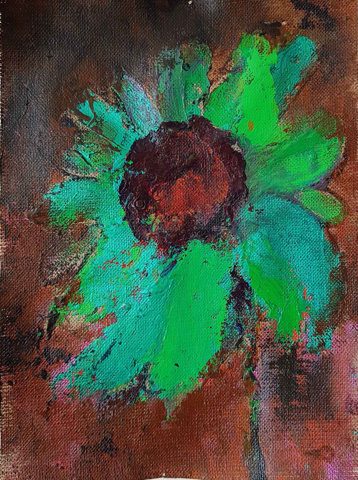 Fleurs Tournesol 2--25x18cm