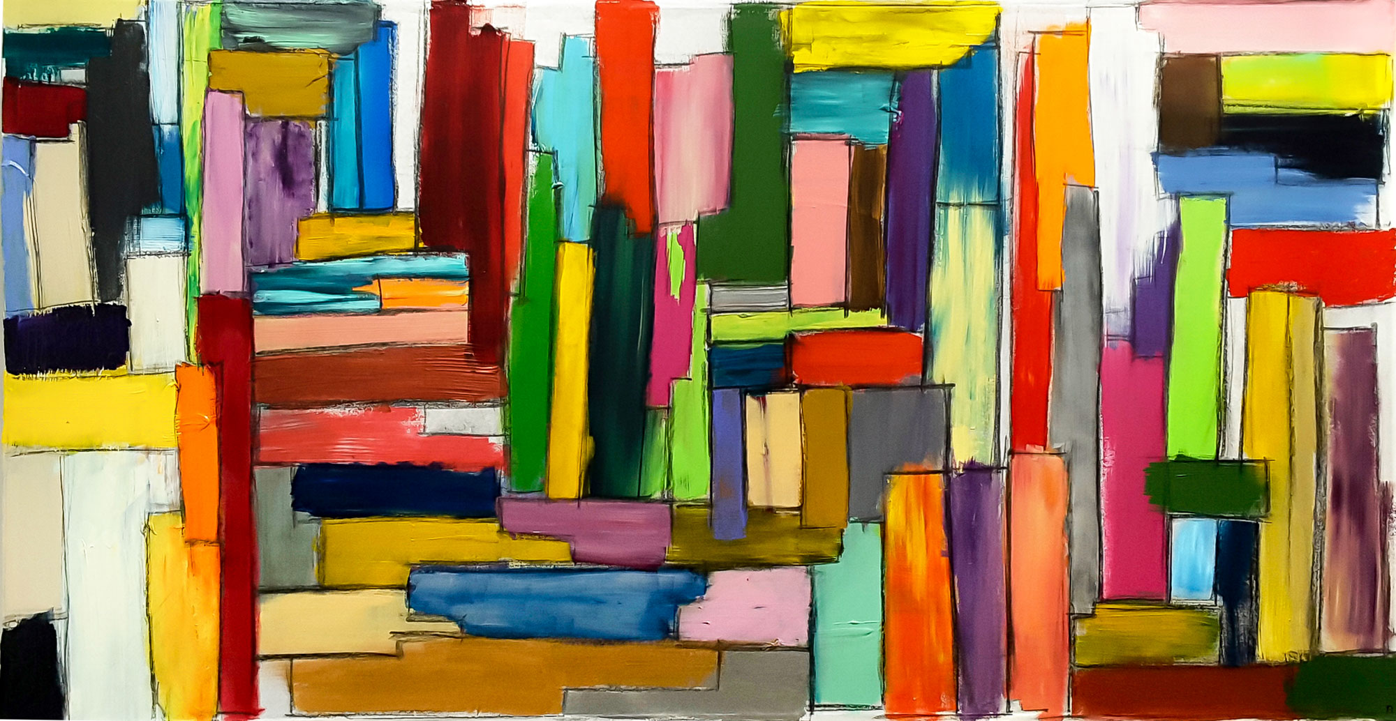 La Ville Ensemble - 76x145 cm