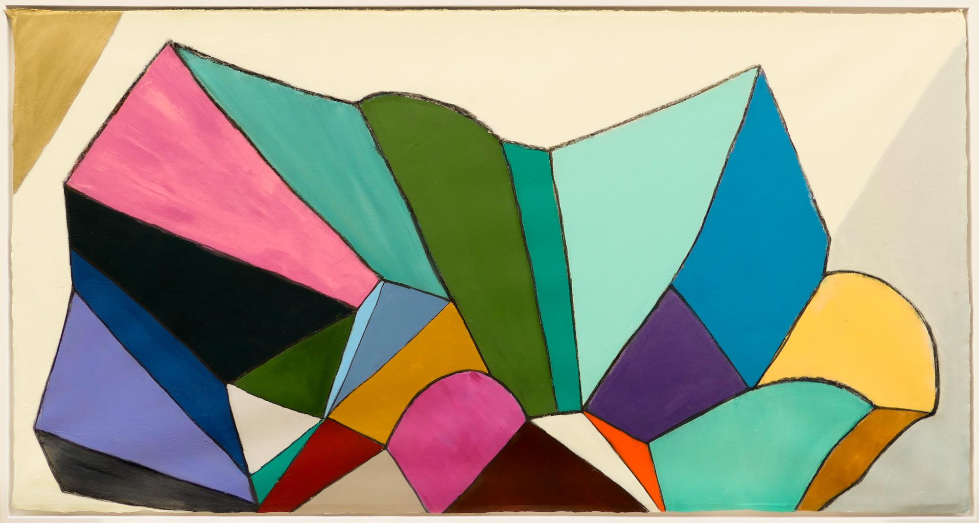 Confluence n°2 - 76x145 cm