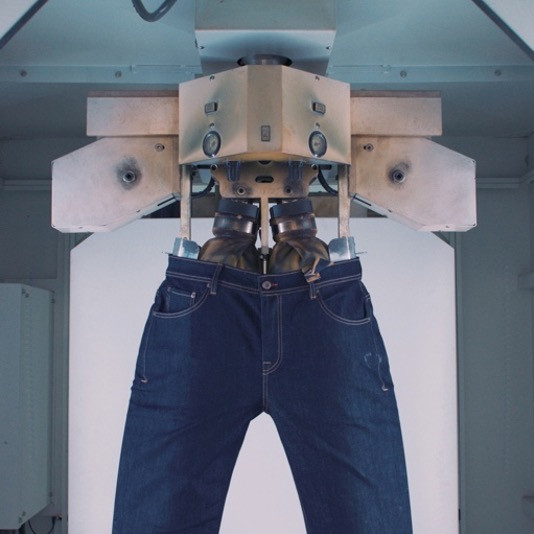 Outland Denim using Jeanologia Technology.