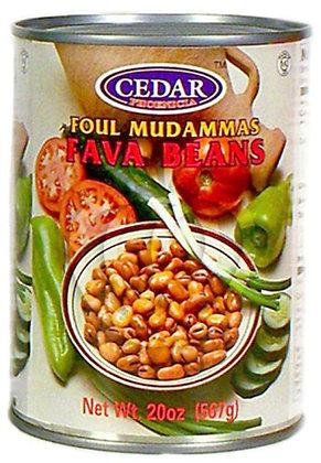 Fava Beans Cedar