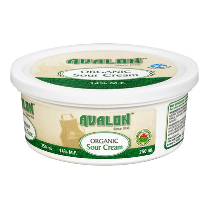 Sour Cream  - Organic - 250ml