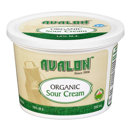 Sour Cream  - Organic - 500ml