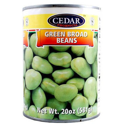 Green Broad Beans Cedar