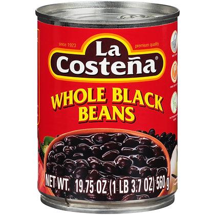 Whole Black Beans La Costena