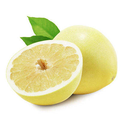White Chinese Pomelos