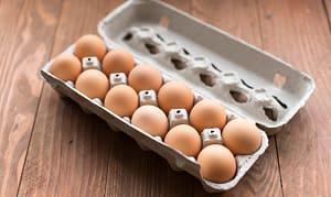 Medium Brown Eggs -12