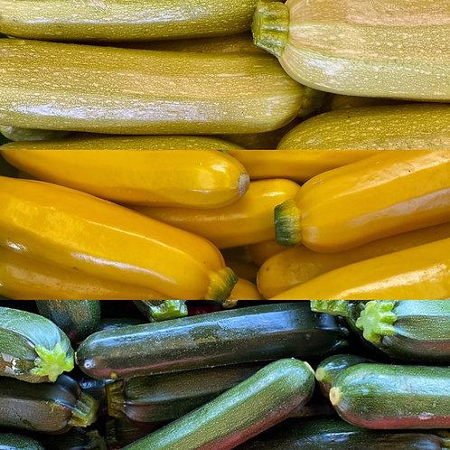 Zucchini, 2 pieces