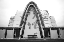 Kirche, Reykjavik, Island
