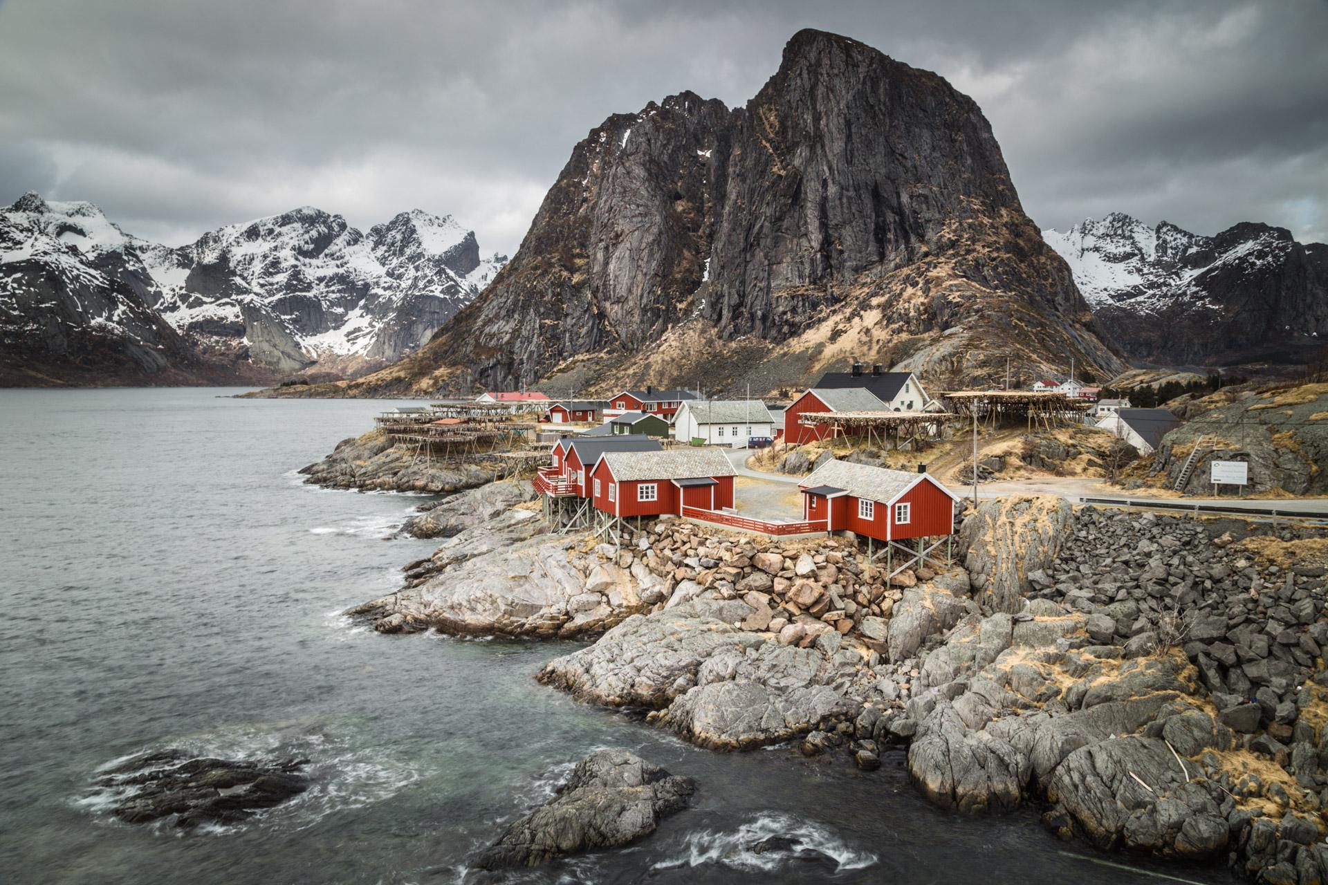 Hamnoy, Lofoten, Norwegen