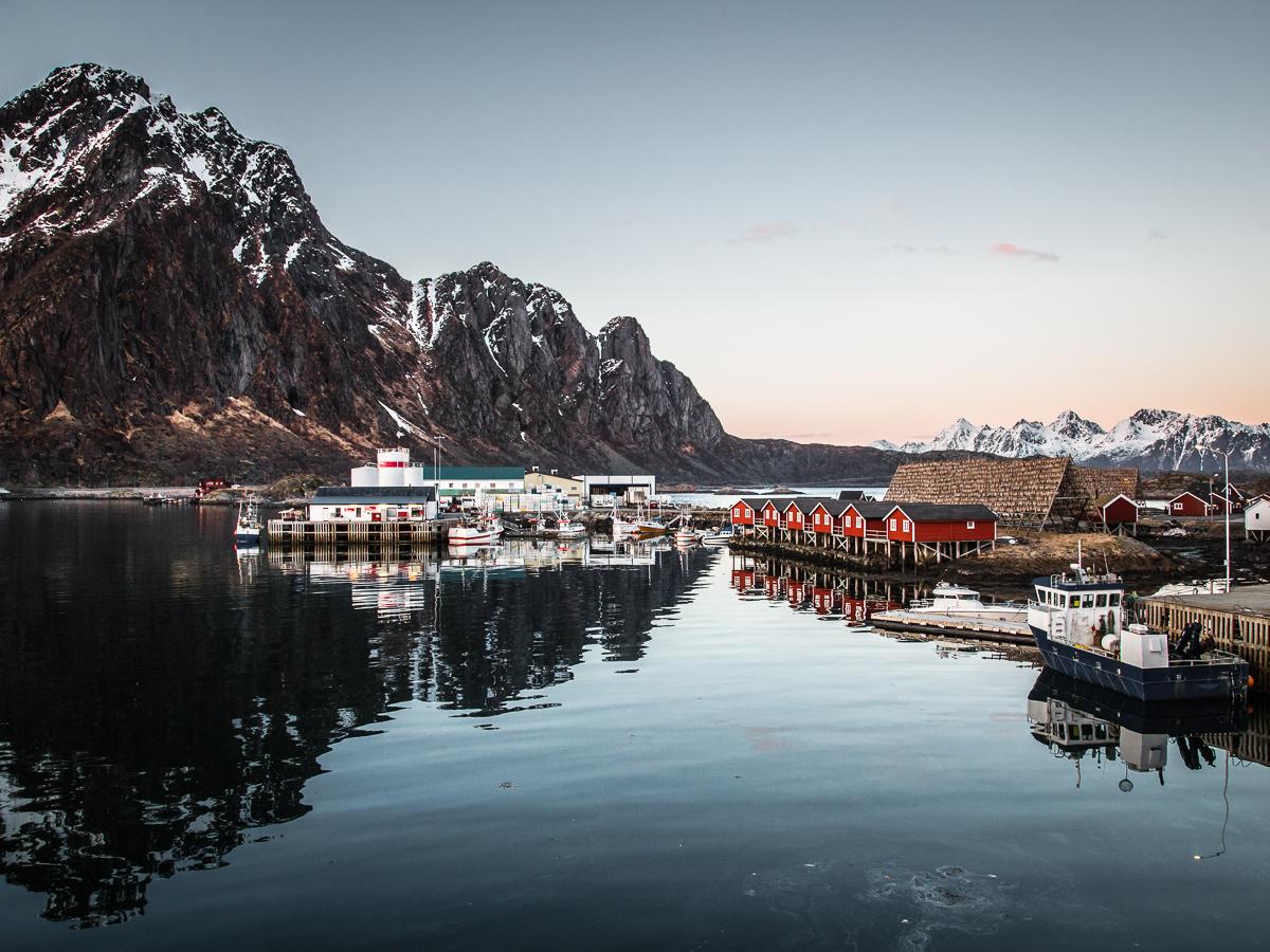 Svolvaer, Lofoten, Norwegen