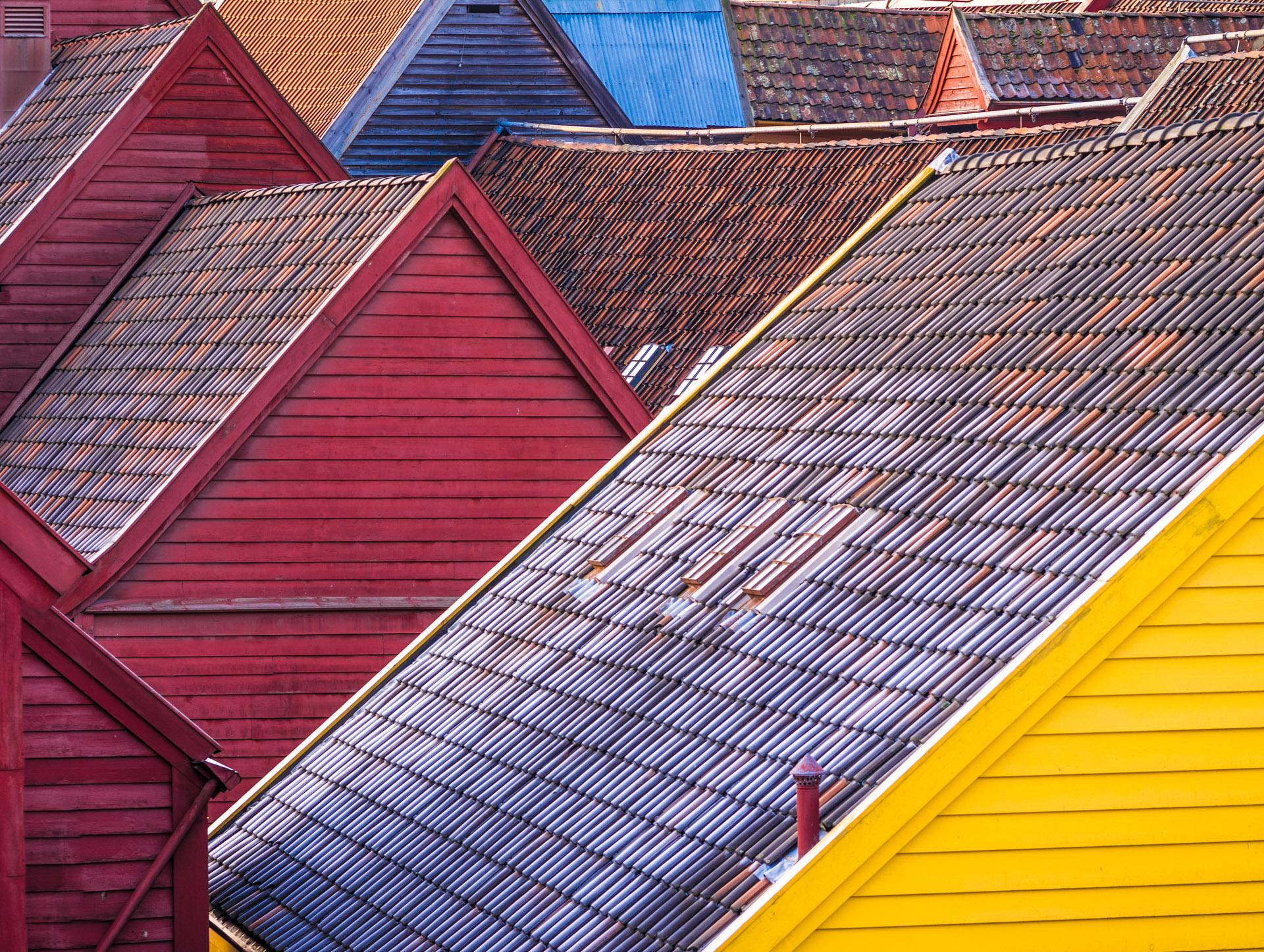 Bryggen, Bergen, Norwegen
