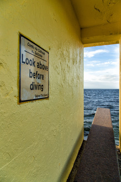 Diving Tower, Galway, Irland