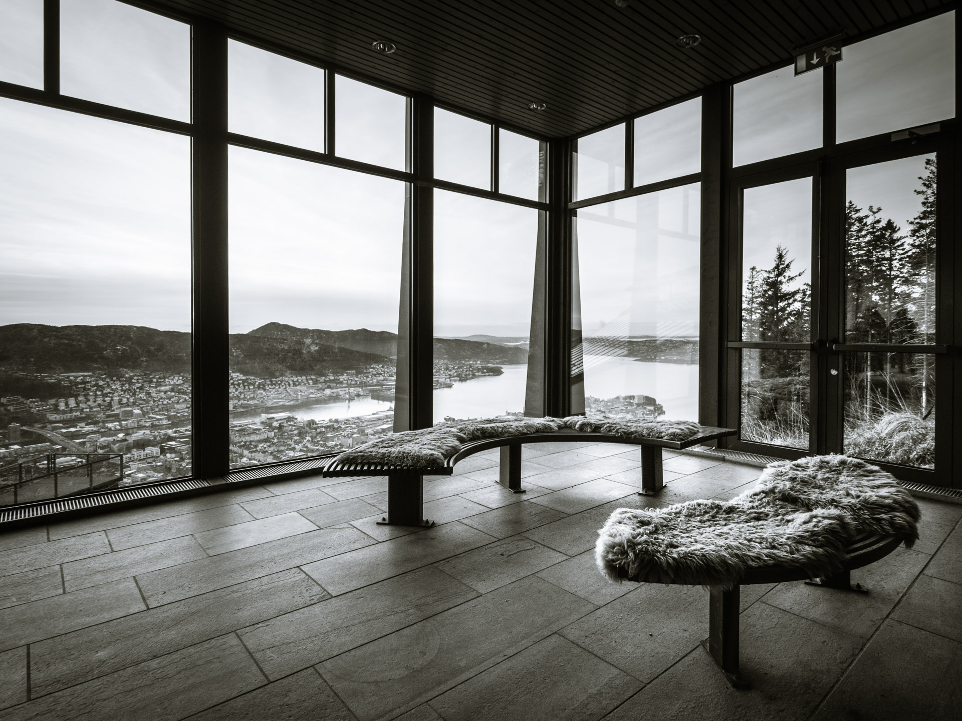 Mount Floyen, Bergen, Norwegen