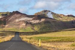 Lavafeld, Reykjanes, Island