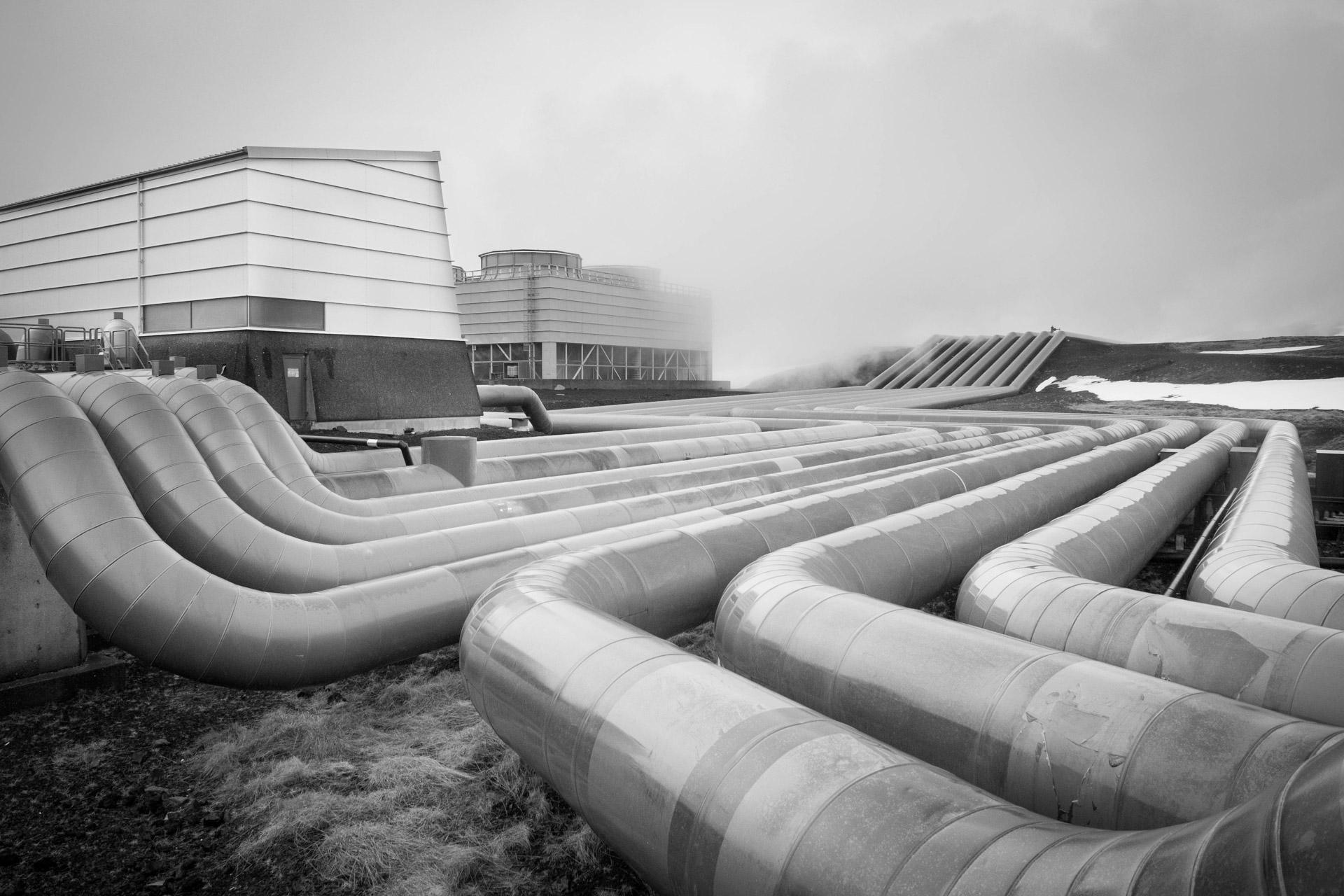 Heizkraftwerk, Island