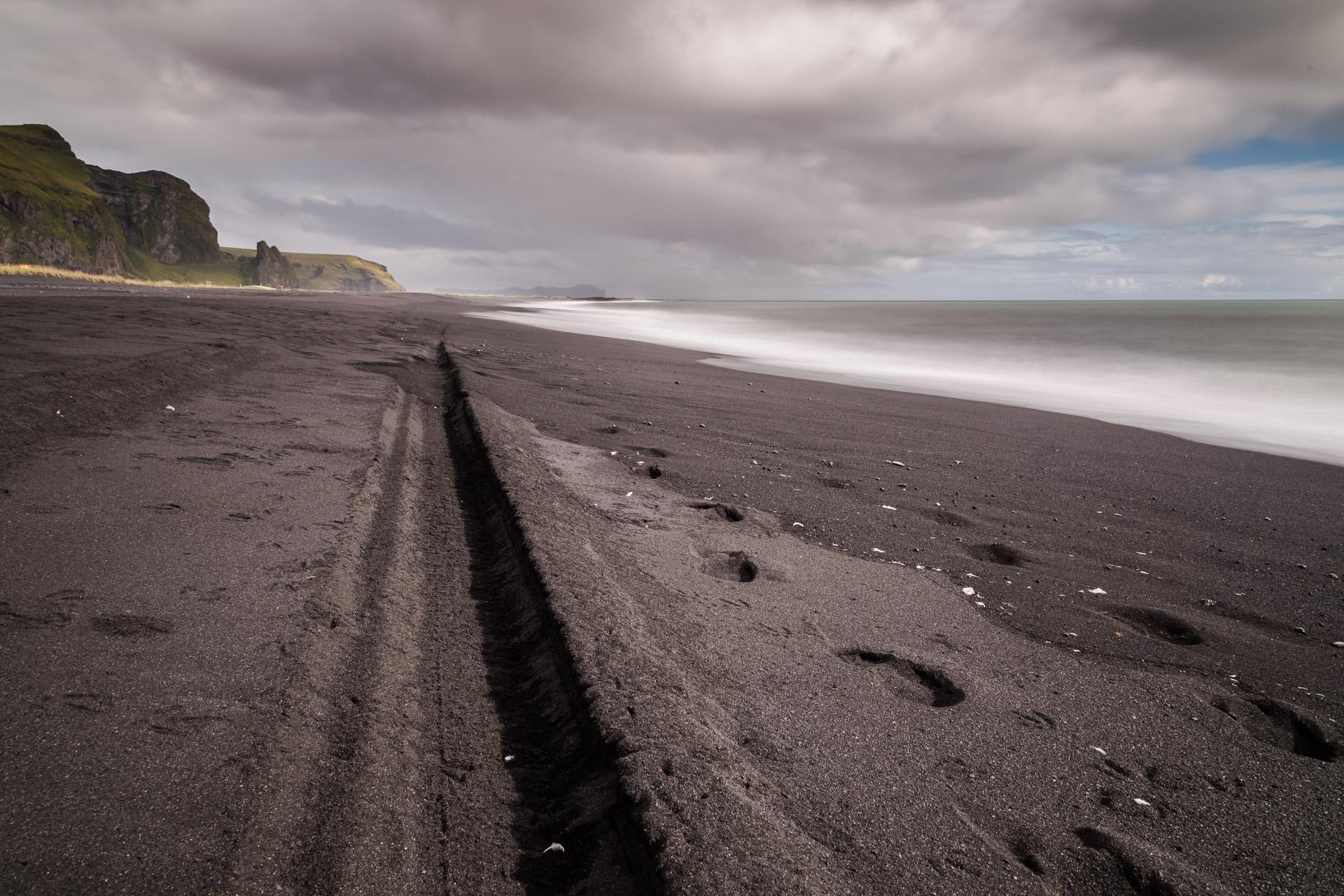Lavastrand, Vik, Island