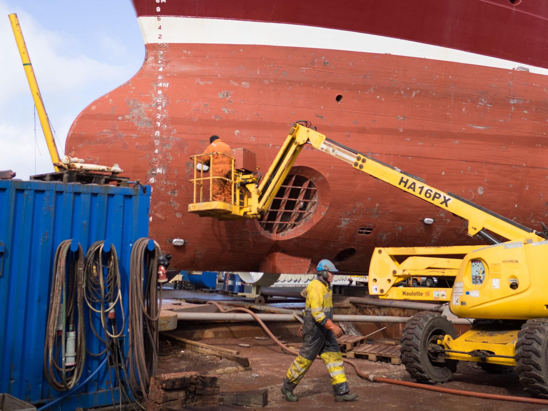 Werft, Reykjavik, Island