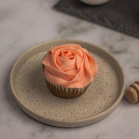 Strawberry Matcha Cupcakes