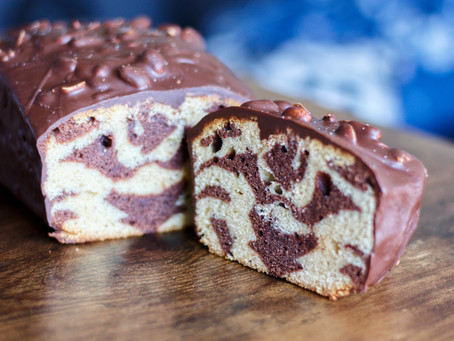 Marbré chocolat cacahuètes