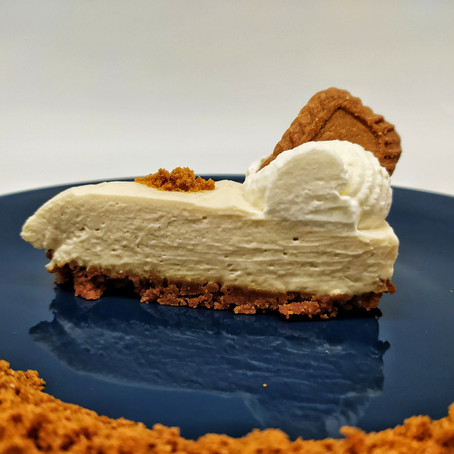 No bake speculoos cheesecake