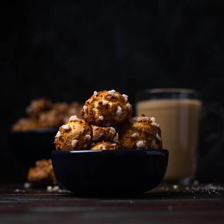Cream Puffs (chouquettes)