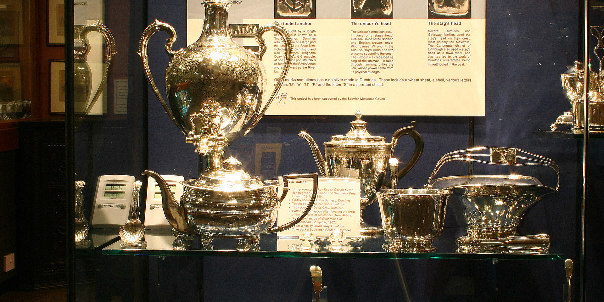Dumfries silverware