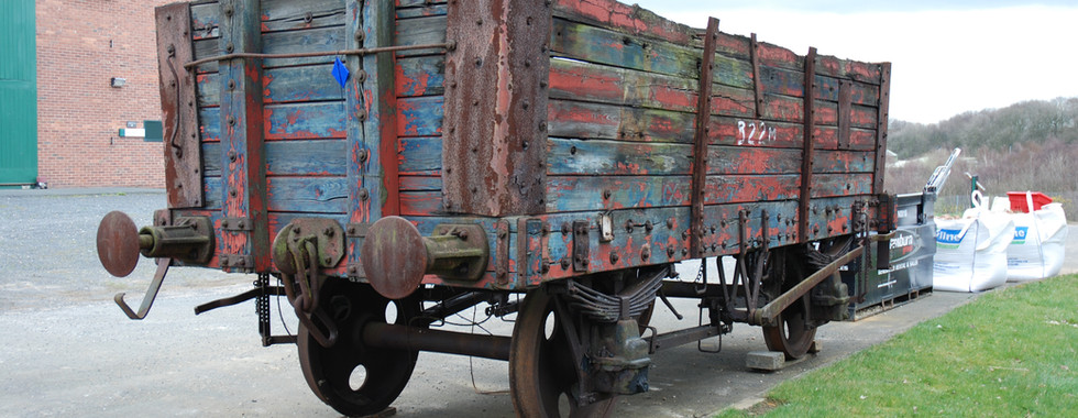 Coal railway wagon