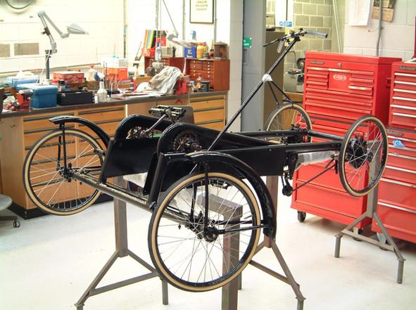 1936/7 model 'Mochet Velocar / Modele Cyclotourisme