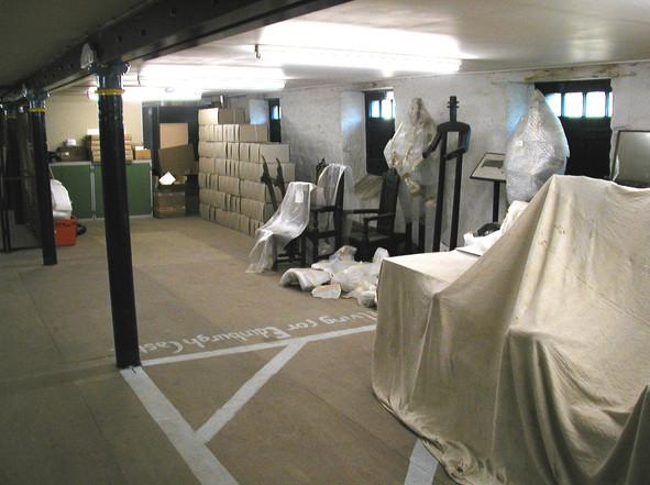 Historic Scotland storage