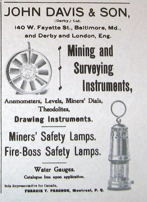 Biram type anemometer / John Davis & Son (Derby) Ltd.