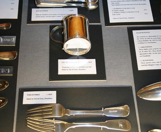 Dumfries silverware