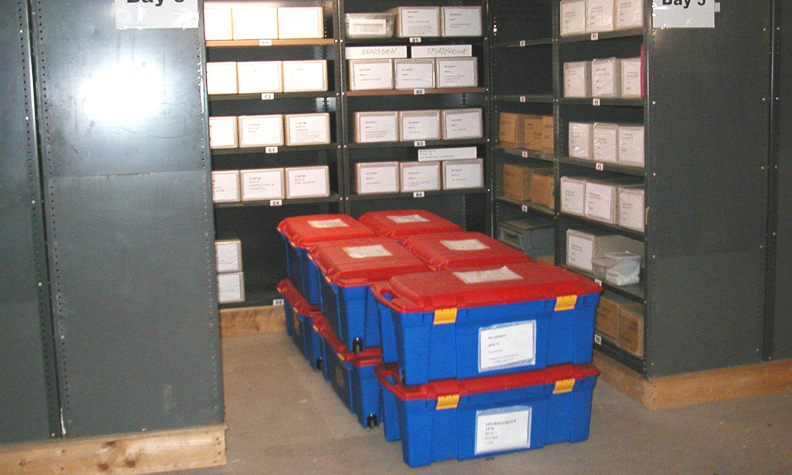 Historic Scotland storage